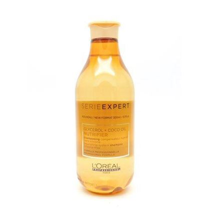 Picture of L'Oreal Nutrifier Glycerol + Coco Oil Nourishing System Silicone-Free Shampoo (300ml)