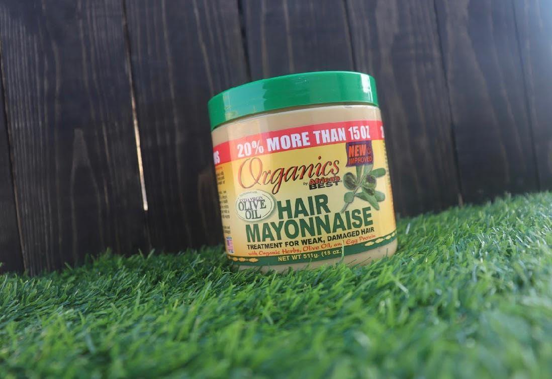 Hair Mayonnaise Mask